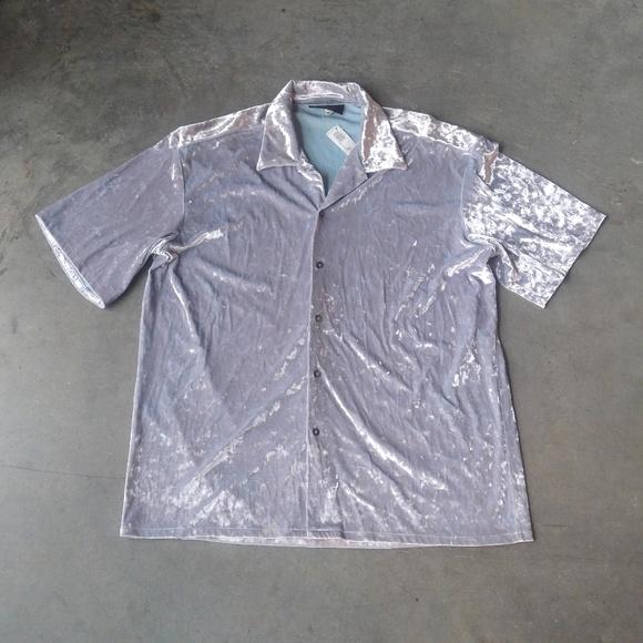 4561eea3a08b9 Kweejibo Clothing Co Vintage Men's Velvet Shirt